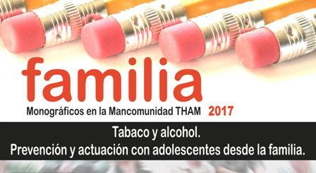"""Escuela de Familia: """"TABACO Y ALCOHOL. PREVENCIÓN Y ACTUACIÓN CON ADOLESCENTES"""""""